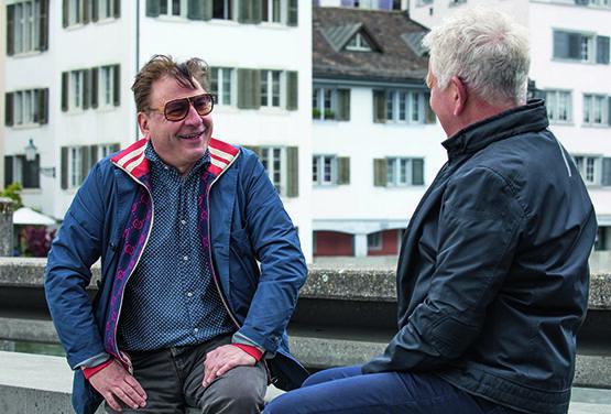 Röbi Koller unterwegs: Auf einen Schwatz mit Beat Schlatter
