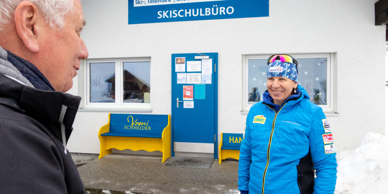 Röbi Koller unterwegs: Auf einen Schwatz mit Vreni Schneider