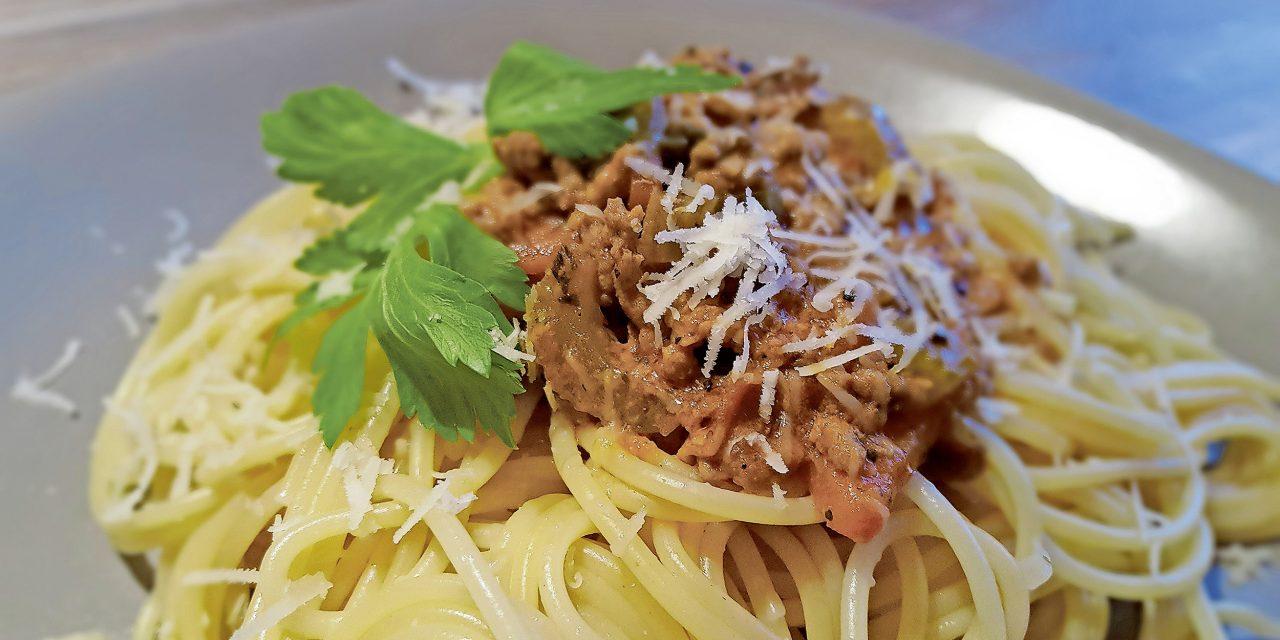 Die einzig wahren Spaghetti Bolognese