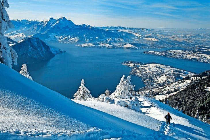 Die Zentralschweiz im Winterzauber
