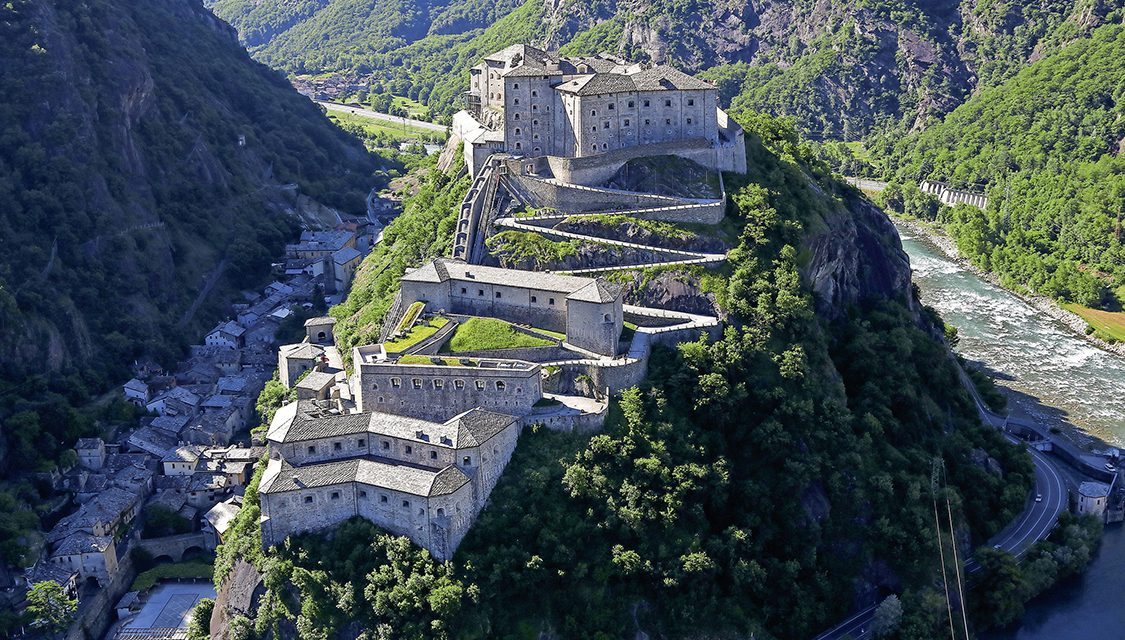 Das Land der Burgen und Schlösser