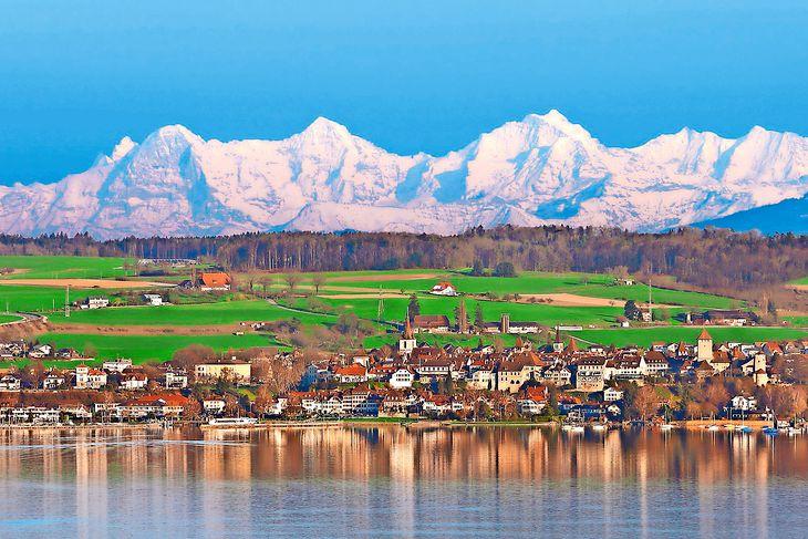 Velotour durch den Gemüsegarten der Schweiz