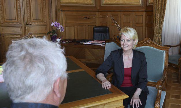 Röbi Koller unterwegs: Auf einen Schwatz mit Isabelle Moret