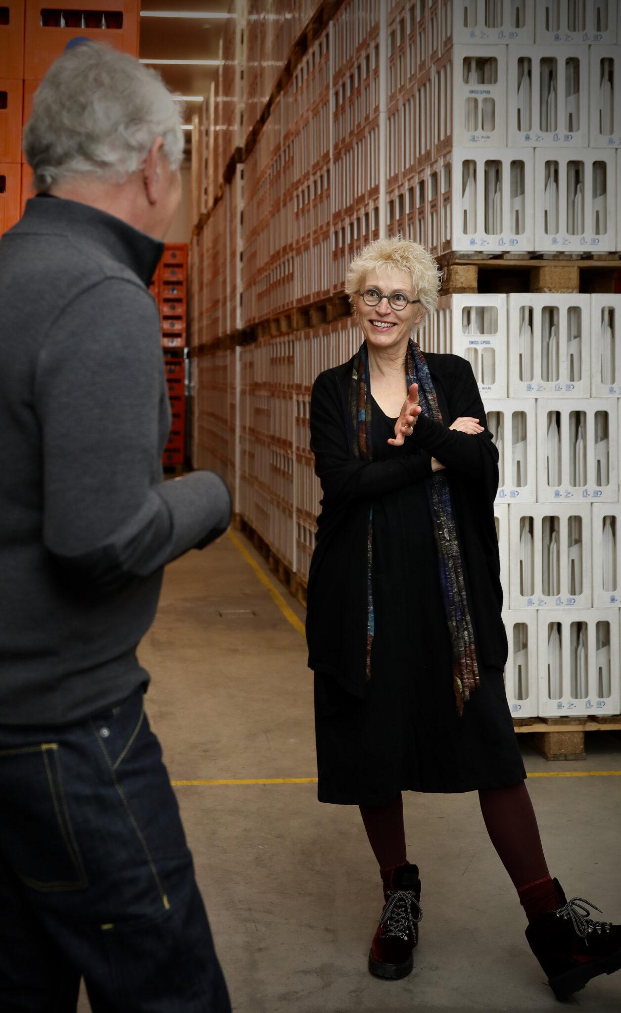 Röbi Koller unterwegs: Auf einen Schwatz mit Gabriela Manser