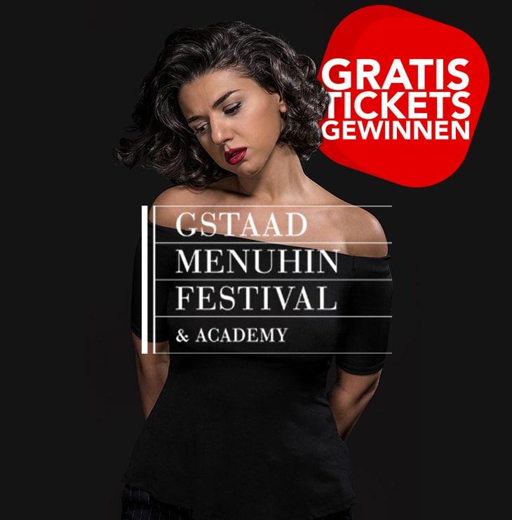 Tickets fürs 63. Gstaad Menuhin Festival & Academy