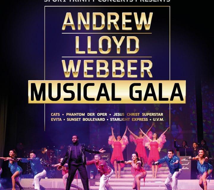 1 x 2 Tickets für die Andrew Lloyd Webber Musical Gala
