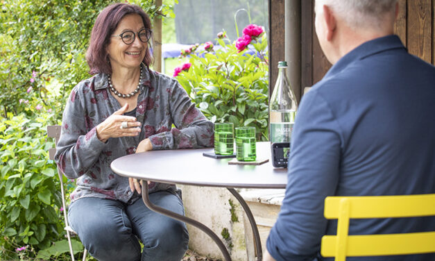 Röbi Koller unterwegs: Auf einen Schwatz mit Yvonne Gilli